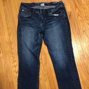 Ladies bootlegger jeans